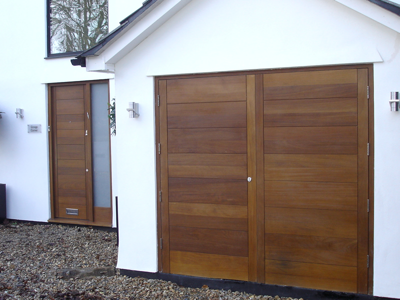 Front Door Garage Doors Gate Amp Cladding Bg Wooden