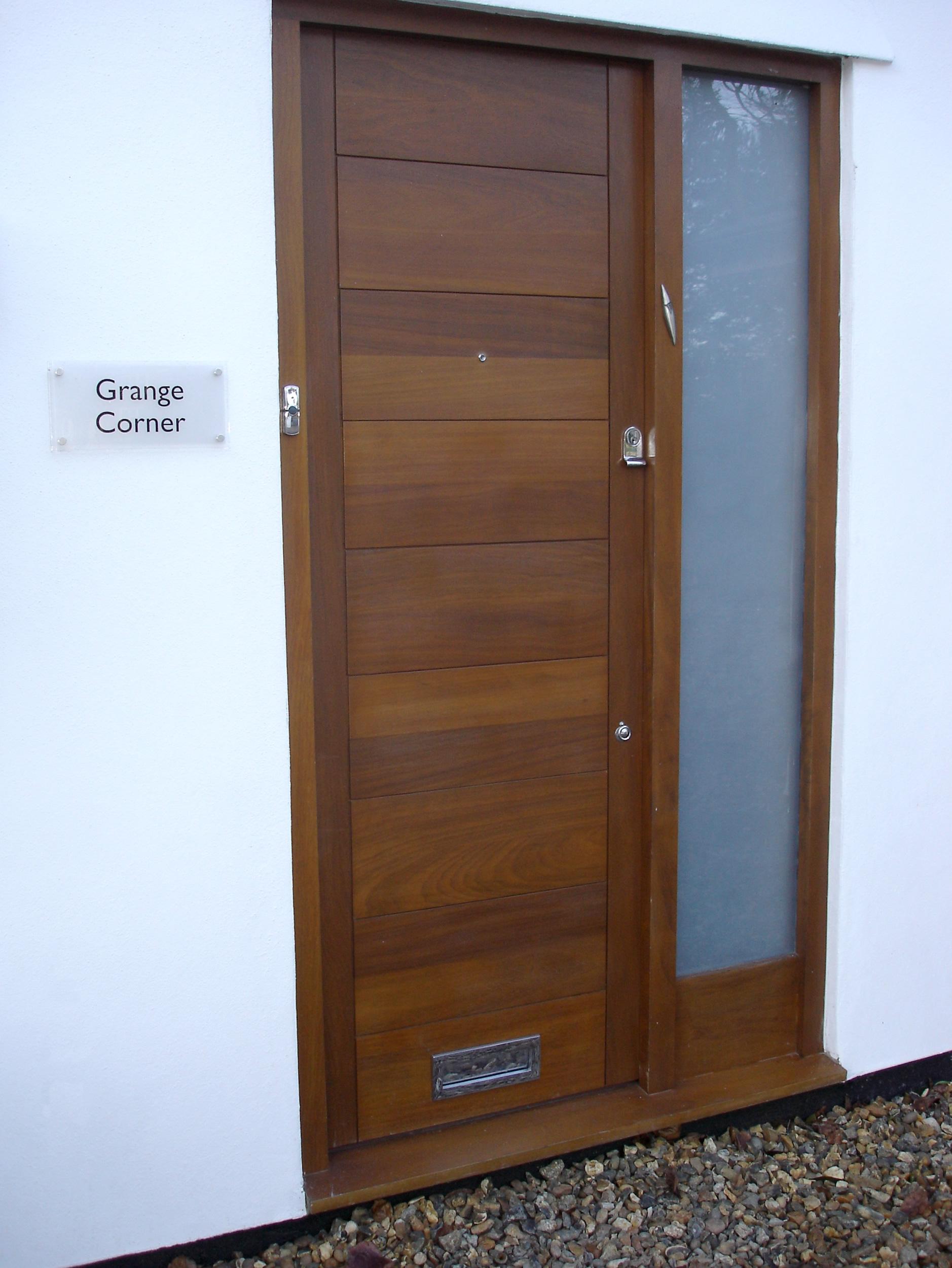Front Door Garage Doors Gate Amp Cladding Bg Wooden