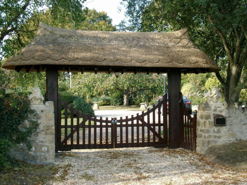 Lich timber church gate - Palisade 4